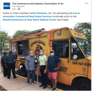 Food Truck For Healthcare Workers